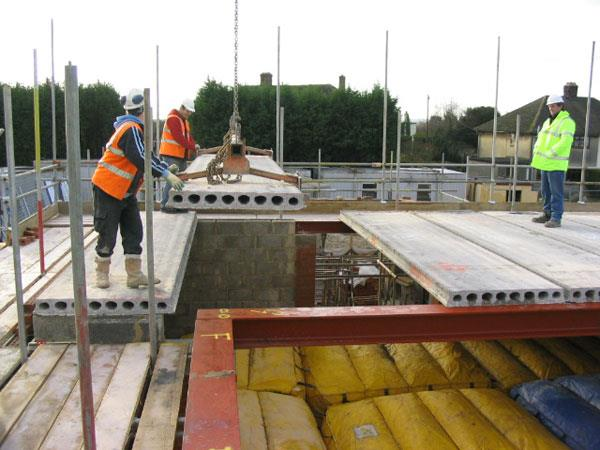 Precast Rcc Slab : Hollowcore concrete flooring reinforced floors