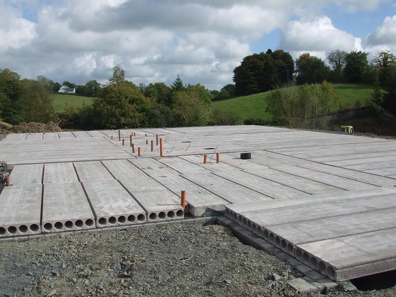 Hollow Core Precast Concrete : Hollowcore concrete flooring reinforced floors