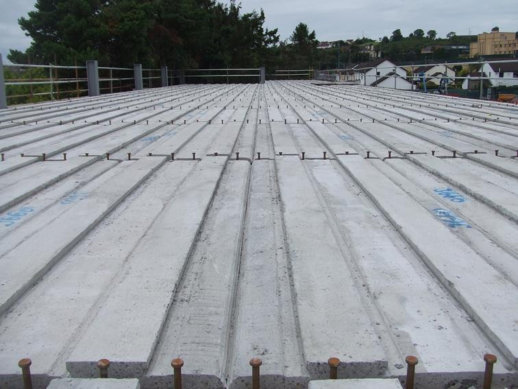 Composite Plate Flooring Concrete Floor Planks Plate