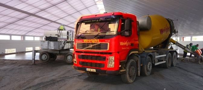 Readymix lorry