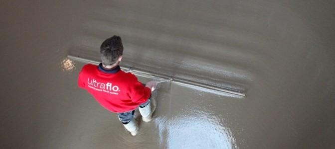 Ultrafloor liquid floor screed