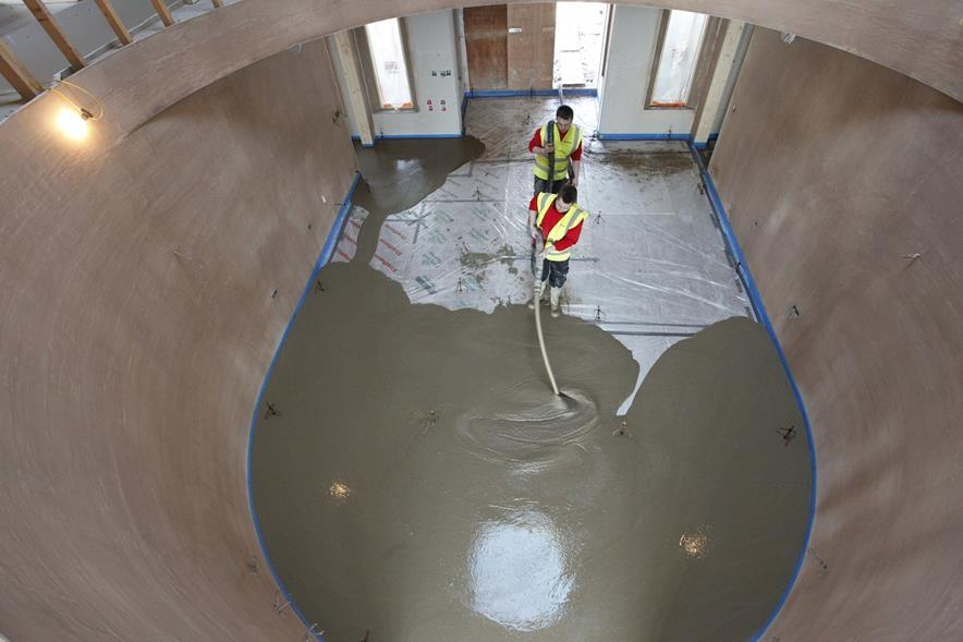 Ultraflo Floor Screed From Wright Quarry Products Supply