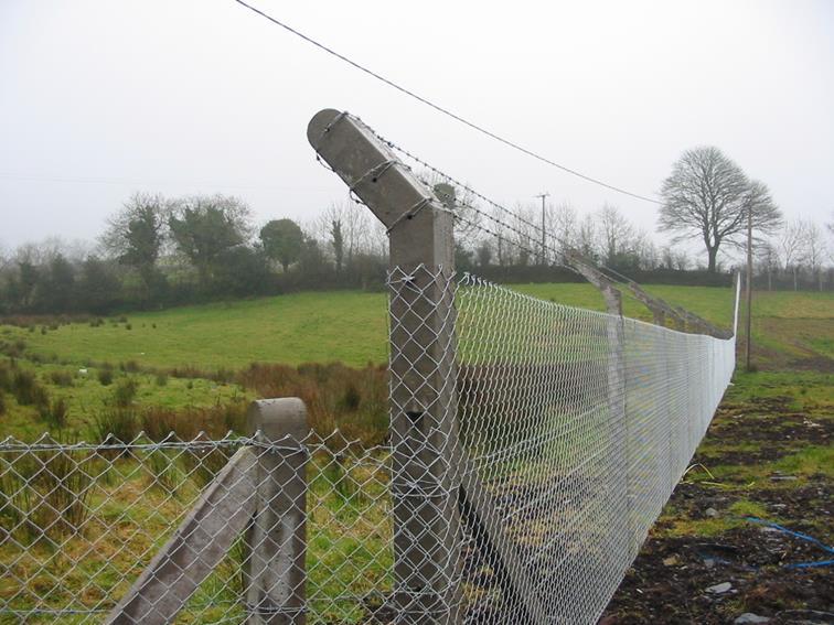Concrete Fencing Concrete Fence Garden Fence Post