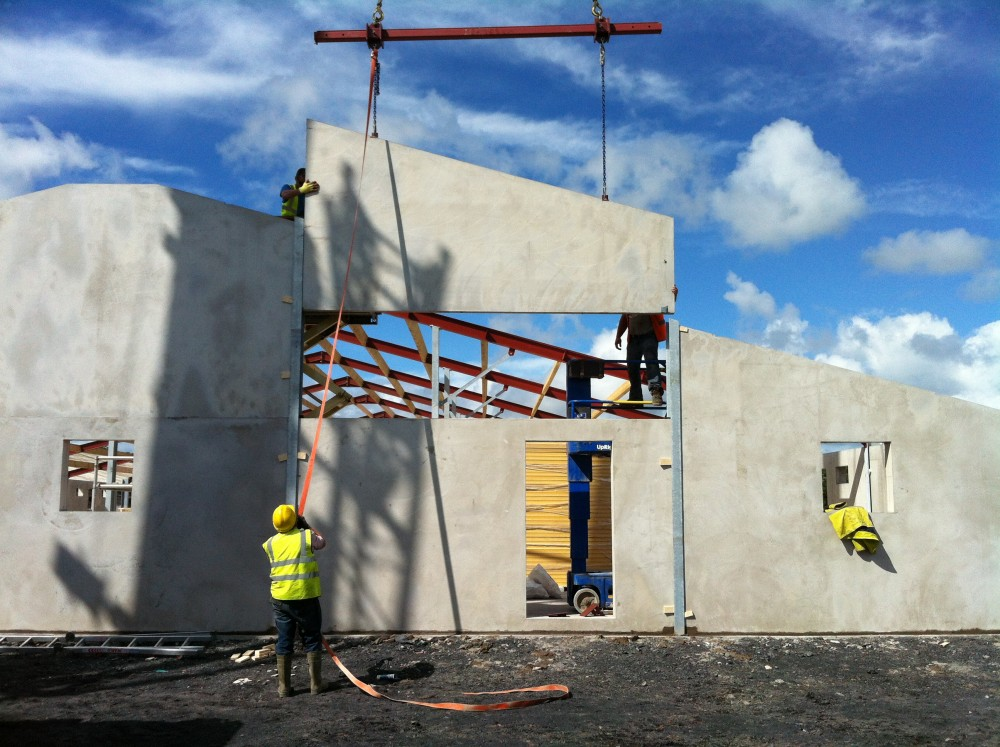 Precast Concrete Wall Systems : Insulated wall panels panel