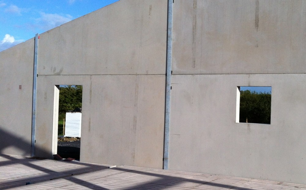 Precast Concrete Wall Panel Systems : Insulated wall panels panel