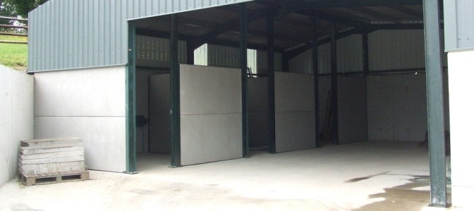 Prestressed Wall Panels used in stables