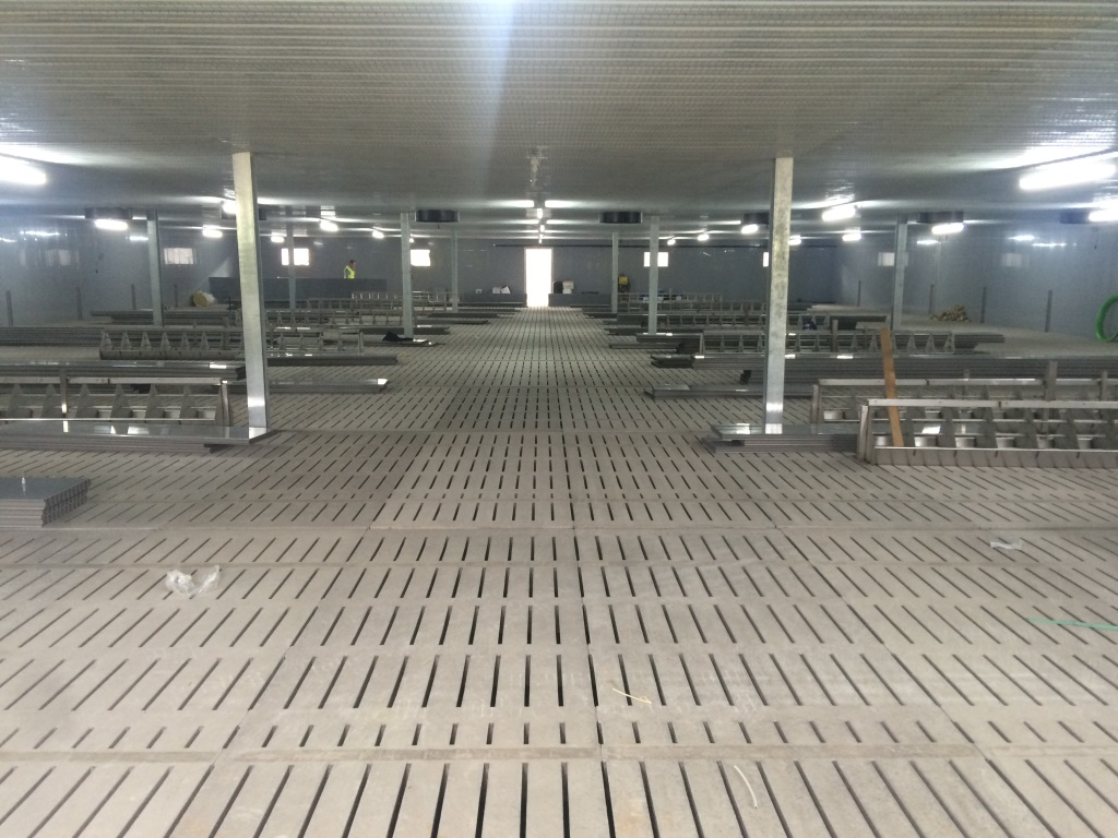 Pig Housing For 5 000 Finishers Wright Quarry Products